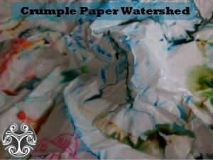 crumpled paper watershed