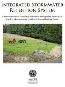 integrated stormwater retention system
